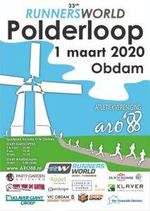 Runnersworld-Polderloop 2020 @ Sportcomplex Victoria-O - De Konkel